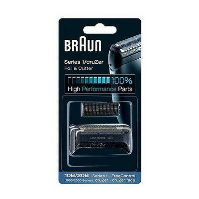 10B / 20B Braun Foil Cutter Replacement Shaver Series 1-190 2776 2864 2865 2876
