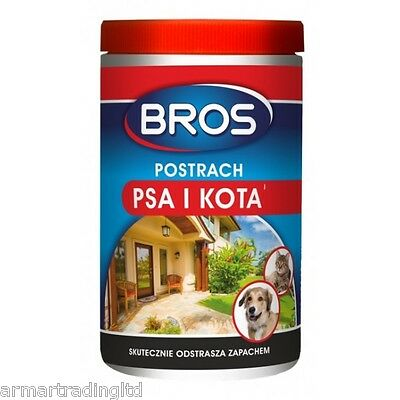 Cat and Dog Repellent 300ml Garden Outdoor Animal Protect Smell Balls BROS
