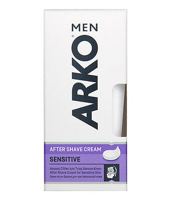 Arko Men After Shave Cream Extra Sensitive With Lavender Oil 50Ml Soothes Skin