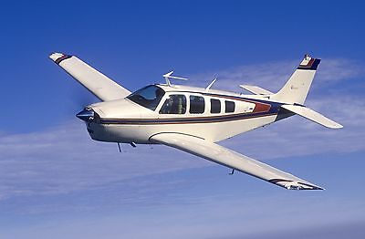 1/5 Scale Beechcraft Bonanza 86 inch Giant Scale RC AIrplane Printed Plans