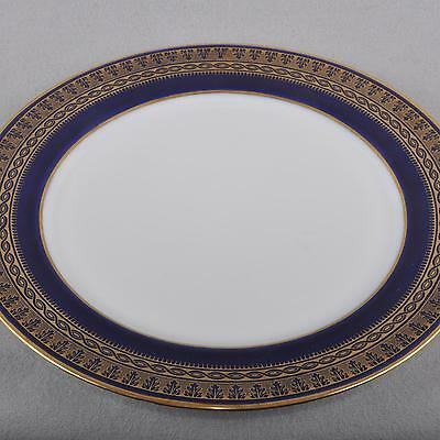 Meissen cobalt blue Wall Plate/plate,fine Gold ornaments,First Quality