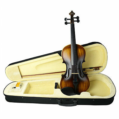 NAOMI VINTAGE VIOLIN 1/2 Violin CC Violin Full SET FOR 7-9 YEARS OLD KID VIOLIN
