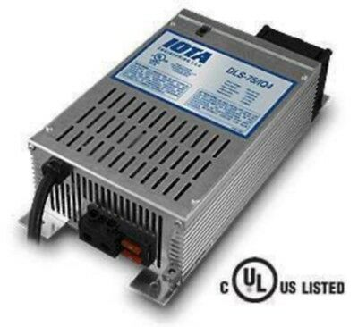 Dls-75/iq4 Iota 12Volt 75Amp Automatic Battery Smart Charger/power Supply New