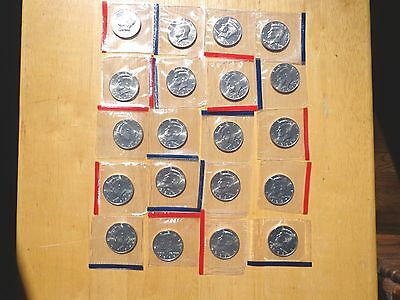 1990 1991 - 1996 1997 1998 1999 P & D Kennedy Half 20 Coin Set Sealed Mint Cello