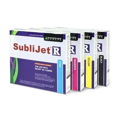 Ricoh SG7100DN SubliJet-R Ink Set Of 4 Colors