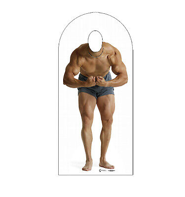 Muscle Man Stand In Life Size Cardboard Cutout Standup