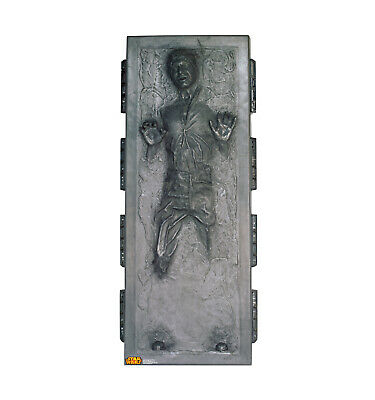 Han Solo in Carbonite Star Wars Life Size Cardboard Cutout Standup