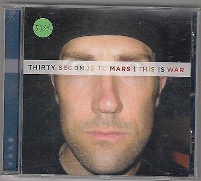 THIRTY SECONDS TO MARS - this is war CD