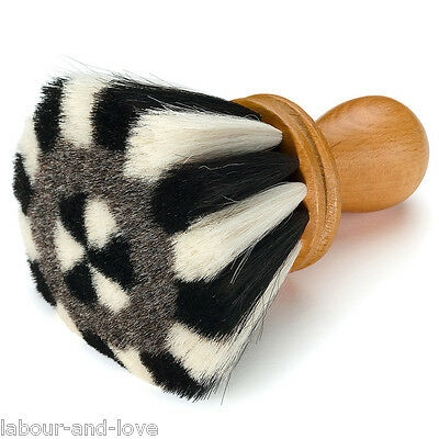 Pure* Goat's Hair Neck Face* Barber Hair Dressing Brush Hair Removal Ultra Soft*