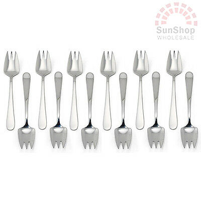 100% Genuine! STANLEY ROGERS Albany 12 Piece Buffet Forks Set Stainless Steel!