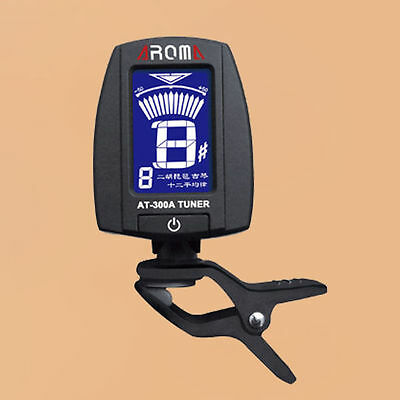 Clip On Erhu Tuner Pipa Tuner Chromatic Gaohu Tuner AT-300A By Aroma-144#