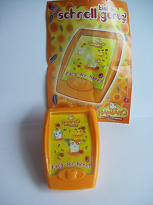 "HAMTARO GAME ""CATCH THE CORE"", Maxi kinder surprise, Germany, RARE"