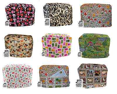 CozyCoverUp® Cotton Food Stand Mixer Cover Animal patterns. Handmade in the UK!