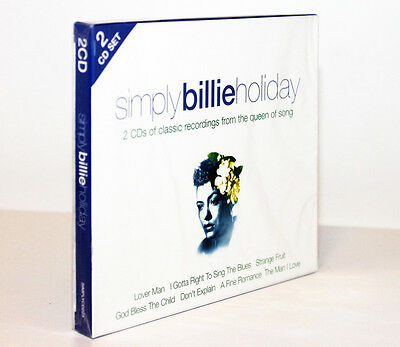 Simply Billie Holiday [2 Cd / 2009] 0698458022325