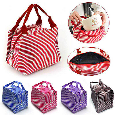 Portable Insulated Lunchboxes Lunch Bag Travel Picnic Food Storage Fashoin Vogue