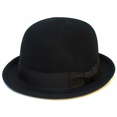 CLASSIC VINTAGE BOWLER Hat with Satin Lining - £12.60  204ce6693dd6