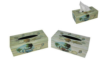 1pce 25CM Combi Beach Themed Tissue Box two designs to choose from