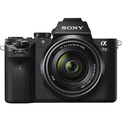 Sony Alpha 7II Mirrorless Interchangeable Lens Camera with 28-70mm F3.5-5.6 Lens
