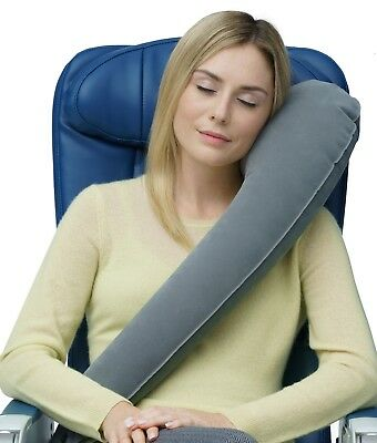 Travelrest Ultimate® Inflatable Pillow Grey - #1 Best Selling Inflatable Pillow