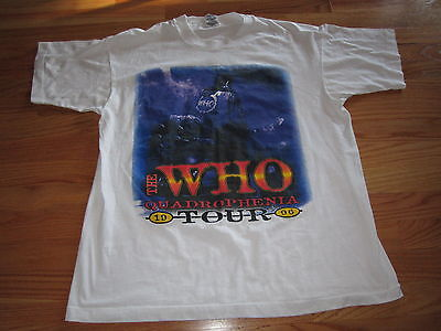 "1996 The WHO ""QUADROPHENIA"" Concert Tour T-Shirt DALTREY TOWNSHEND"
