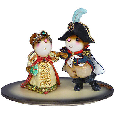 NAPOLEON AND JOSEPHINE by Wee Forest Folk, WFF# M-529, NEW!