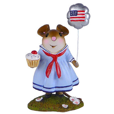 AMERICAN DREAM by Wee Forest Folk, WFF# M-528a, Patriotic Mouse LTD 2015
