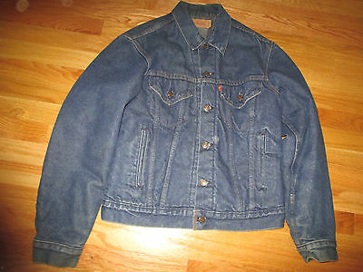 "Levi 1981 POLICE ""Ghost in the Machine"" Tour Concert Denim (Size 40) Jacket"