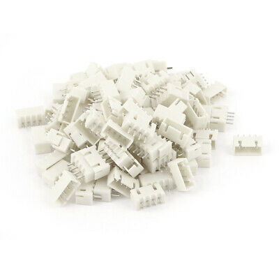 100pcs 2.54mm Pitch Male 4 Pins RC Lipo Battery Balance Connector JST XH Header