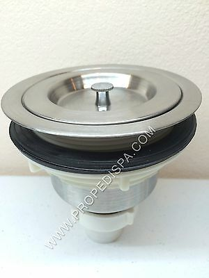Stainless Steel Shampoo Backwash kitchen Bowl Sink Hair Strainer Drain Assembly