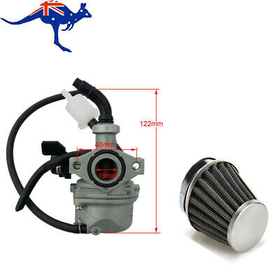 35mm Air Filter + Carburetor 19m Carby 50/70/90/110/125cc ATV Quad Pit Dirt Bike