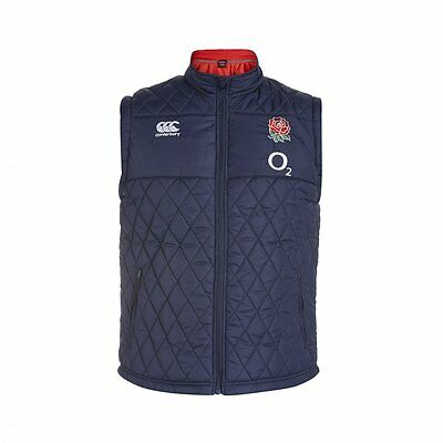 England 2015/16 Canterbury Players Rugby Sideline Padded Gilet