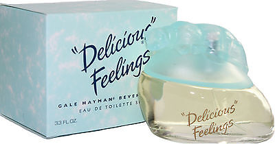 Delicious Feelings By Beverly Hills 3.4oz100ml For Woman Edt Spray New In Box
