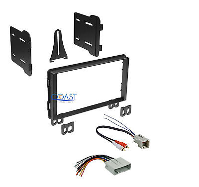 Car Double DIN Stereo Dash Kit Harness for 2001-2006 Ford Lincoln Mercury