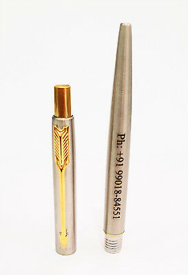 Personalised Engraved Parker Classic Steel GT Gold Trim Ball Point Pen Gift Box