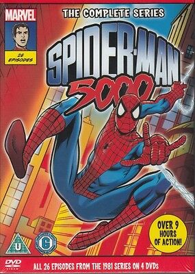 Spider-Man 5000 - The Complete Series (4-DVD-Set)