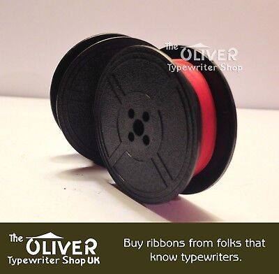 Adler Typewriter Ribbon, Red and Black for Manual Machines High Quality
