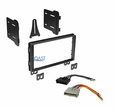Double DIN Stereo Dash Kit w/Harness for Select 2001-2006 Ford/Lincoln/Mercury