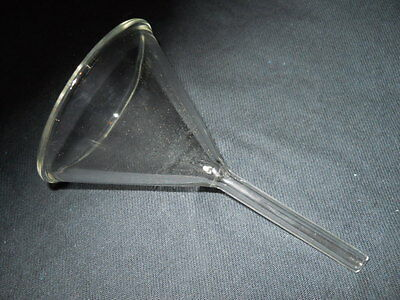 Kimble Kimax Glass 65mm ID 58° Angle 6cm Short Stem Filling Funnel