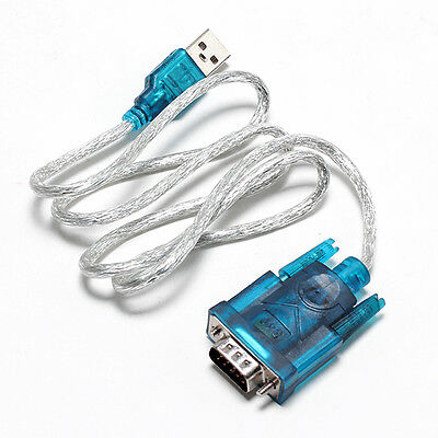 USB 2.0 Auf RS232 Seriell DB9 9 Pin Adapter Kabel GPS PDA 1M 9587