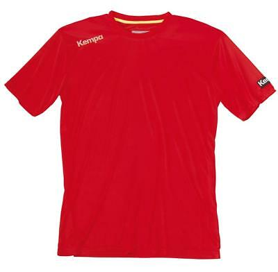 Kempa Core Training Shirt Handball Herren Sport Top rot