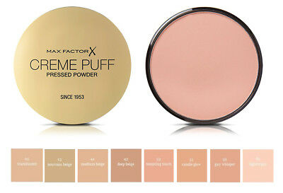 Rørig MAX FACTOR CREME Puff Refill Compact Powder ~ Choose Your Option CG-12