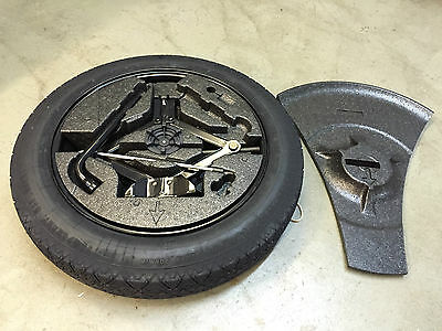 Genuine Volvo Xc60 Space Saver Spare Wheel Tyre Kit / Tools / Foam