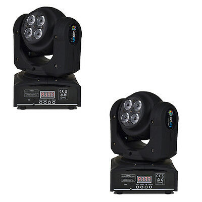 ColorKey Duo 64 W Dual Face 8x8w RGBW LED-Pair
