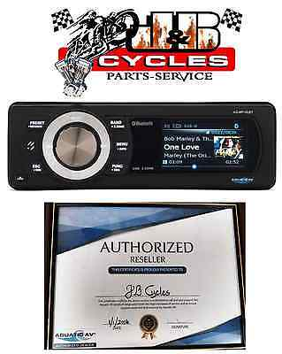 Aquatic AV Direct Fit Bluetooth Color Radio AQ-MP-5UBT-H For Harley 1998-2013