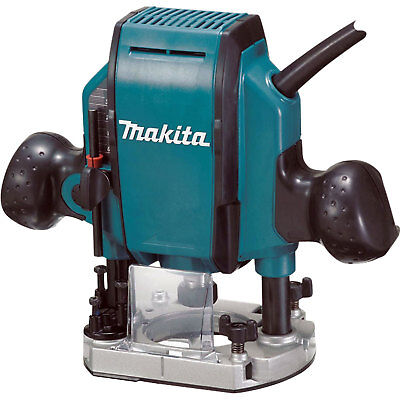 Plunge Router 27,000 RPM 1-1/4 HP Makita RP0900K New