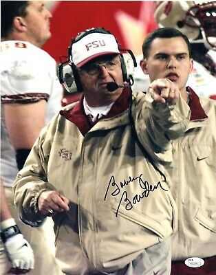 Bobby Bowden signed 11X14 Photo Picture FSU Seminoles JSA Authenticated