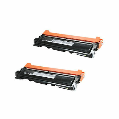 2PK TN210 TN-210 BK Toner Cartridge For Brother HL-3040 3045 3070 MFC-9010 9120
