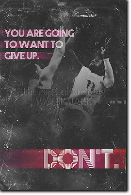 Basketball Motivational Poster 03 Quote Motivation Photo Print Gift