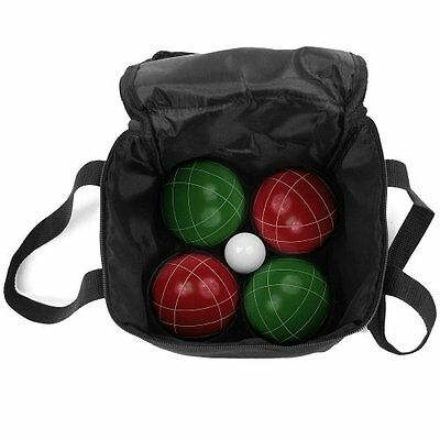 Trademark Games 9 Piece Bocce Ball Set with Easy Nylon Carry Case - NEW