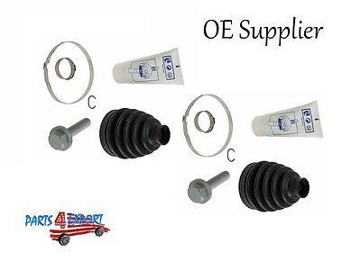 Mercedes Axle Boot Kit front outer Set left right w203 w211 4 Matic  OE Supplier